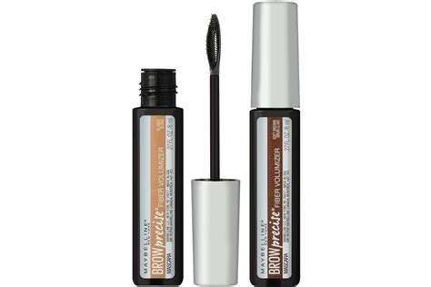 Maybelline Eyebrow Mascara maybelline brow precise fiber volumizer mascara beautygeeks