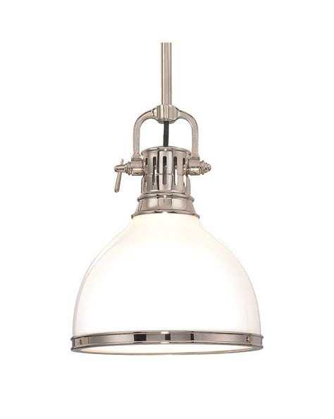 Hudson Valley Lighting Pendant 2623 Hudson Valley Chic Vintage Industrial 1 Light Randolph Pendant