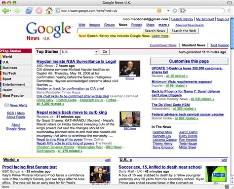 google news google news