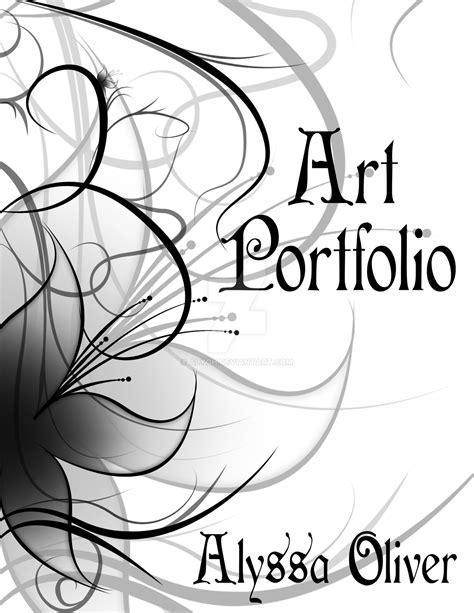 my vase portfolio coverpage by alyoh on deviantart