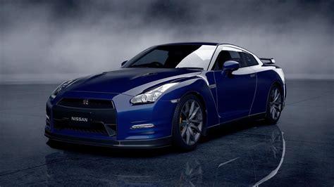 Nissan Gt R Godzilla Blue R35 Walldevil