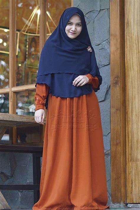 Gamis Orange Alila gamis ayumi orange alila gamis syar i fesya
