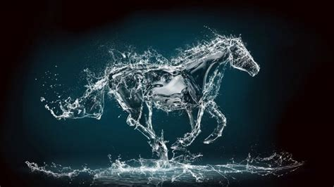 Water Horse 3d Fondos De Pantalla Hd Fondos De Water Ink Wallpaper Allwallpaper In 8497 Pc En