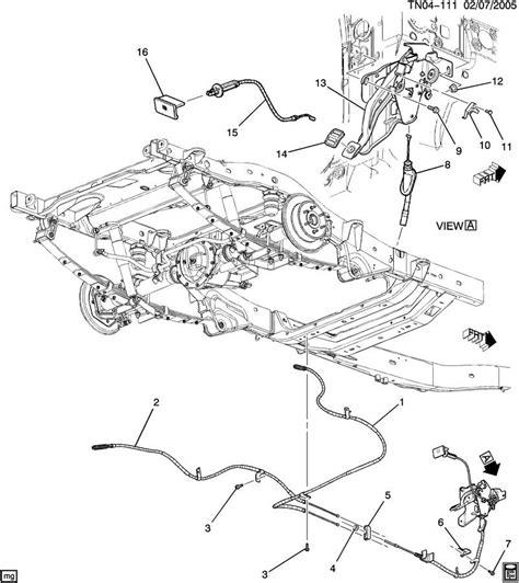 hummer h3 parts diagram hummer h3 parking brake release handle 10387591