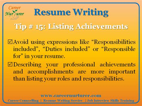 Resume Tips And Tricks Guidelines For Writing A Professional Resume Cv Career Counselling Aptitude Test Centre