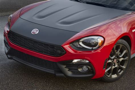 usa s 2017 fiat abarth 124 spider analyzed in 100 photos