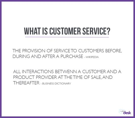 Definition Of Service Desk by What Is Customer Service And Why Is It Important