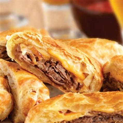 Phancy Philly Cheesesteak Turnovers by Puff Pastry Flavorite