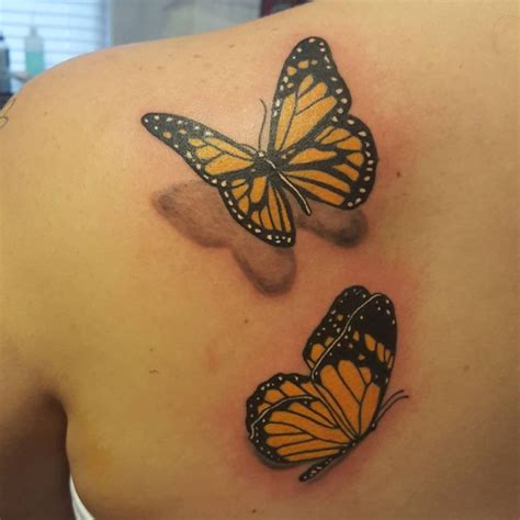 unique butterfly tattoos best 25 monarch ideas on butterfly