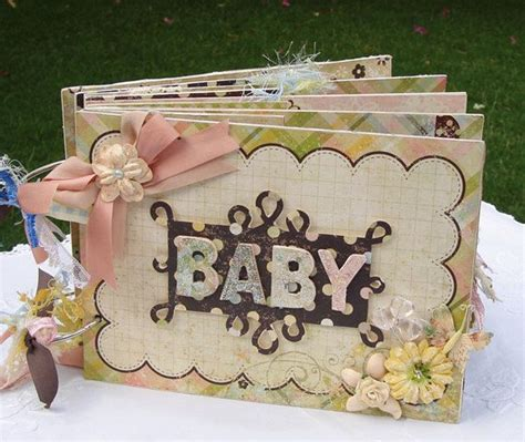 Handmade Baby Scrapbook Ideas - baby scrapbook mini album handmade mini scrapbook album