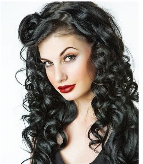 Hairstyles For Long Curly Black Hair | long curly hairstyles