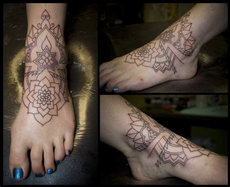 ankle and foot tattoos designs foot tippingtattoo