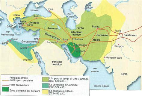 persiani storia impero persiano nascita espansione decadenza