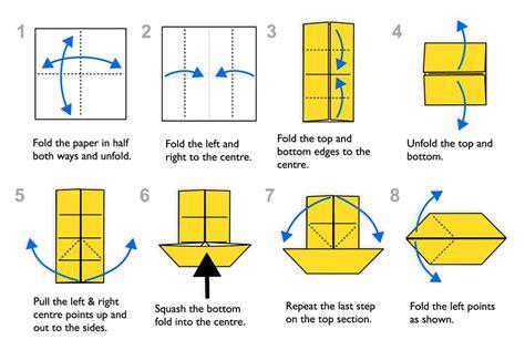 Ancient Origami Diagram - traditional origami fish