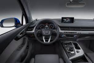 How Much Is Audi Q7 2016 Audi Q7 Review Interior Price Pictures