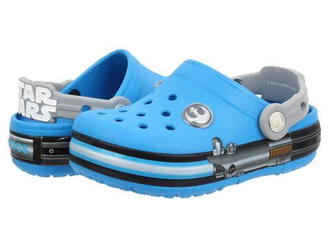 wars crocs light up crocs crocslights wars jedi toddler kid