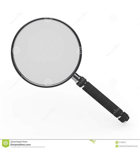 3d Magnifying Glass 3d magnifying glass stock photos image 21758213
