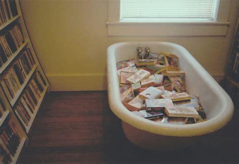 bathtub books bath bath tub book case book shelf book image