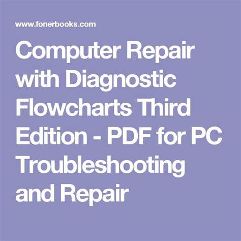 computer repair with diagnostic flowcharts best 25 computer repair ideas on computer