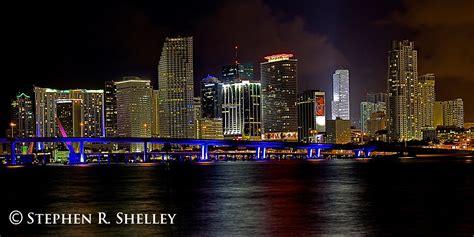 miami city skyline at night miami beach skyline at night www imgkid com the image