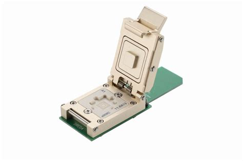 Plat Emmc Bga 5 In 1 bga test socket adapter apply to emmc size 11 5x13 0 5mm emmc 5 0 in semiconductors from