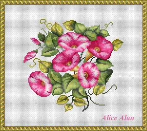 pattern of flower arrangement bouquet of morning glories floral arrangement от