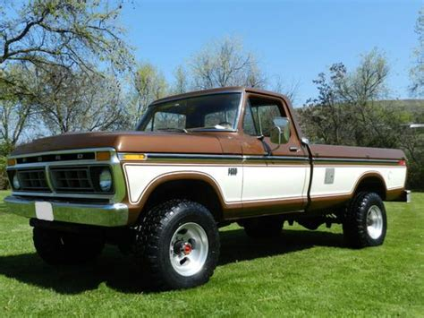 1976 ford f250 highboy for sale sell used 1976 ford f250 ranger highboy 4x4 37k 60