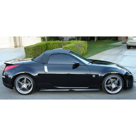 convertible nissan 350z stillen 1035079 rear wing spoiler type 1 convertible
