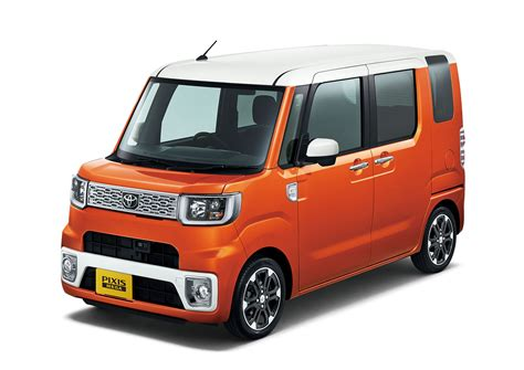 japanese car toyota pixis mega is japan s newest ultra cute kei car