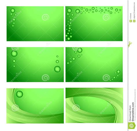 Business Cards Stock Illustration Image Of Environment 7479446 Card Background Templates 2