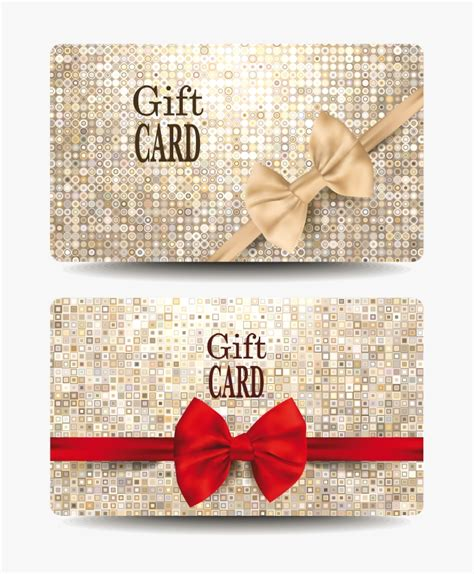 plastic card design template free gift card design template