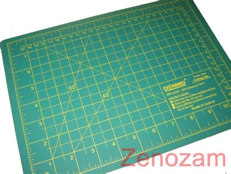 Fabric Cutting Mat cutting mat for rotary quilt fabric paper a4 300x220mm
