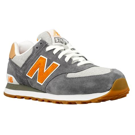 New Balance 574 Kode L55 discount code for new balance 574 orange grey 746b4 d5e83