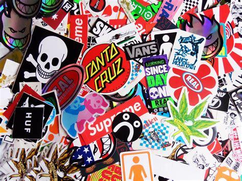 skateboard stickers pack  car bmx snowboard van