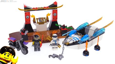 lego ninjago boat lego ninjago juniors zane s ninja boat pursuit review