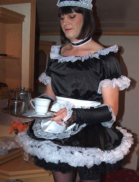 using sissy maids for real maid duties collarchatcom professional lockable satin french maid uniform not a fancy