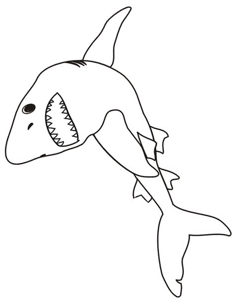 coloring pages with sharks shark coloring pages printable coloring home