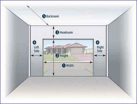 single car garage dimensions garage door dimensions single car wageuzi