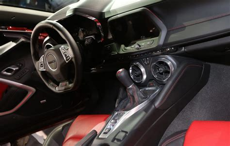 Car Interior Improvements by 2016 Camaro Lighter Stiffer Sixth Generation Shines On