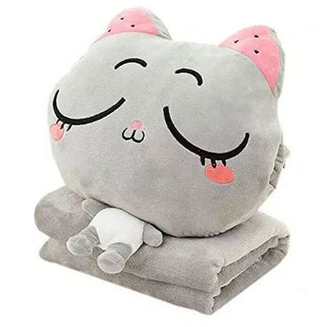 Stuffed Animal Pillow Blanket by Kosbon 3 In 1 Plush Stuffed Animal Toys Throw