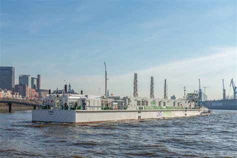 becker hamburg becker marine s lng barge starts second season in hamburg