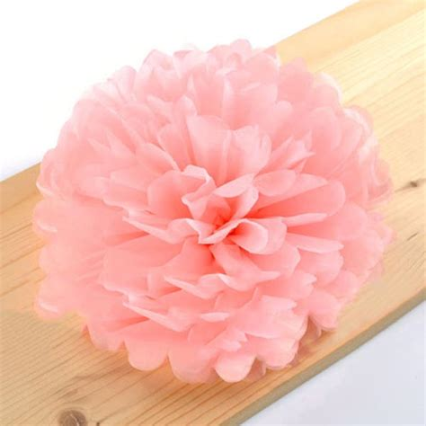 How To Make Tissue Paper Balls For Wedding - wedding tissue paper pom poms flower balls pom poms