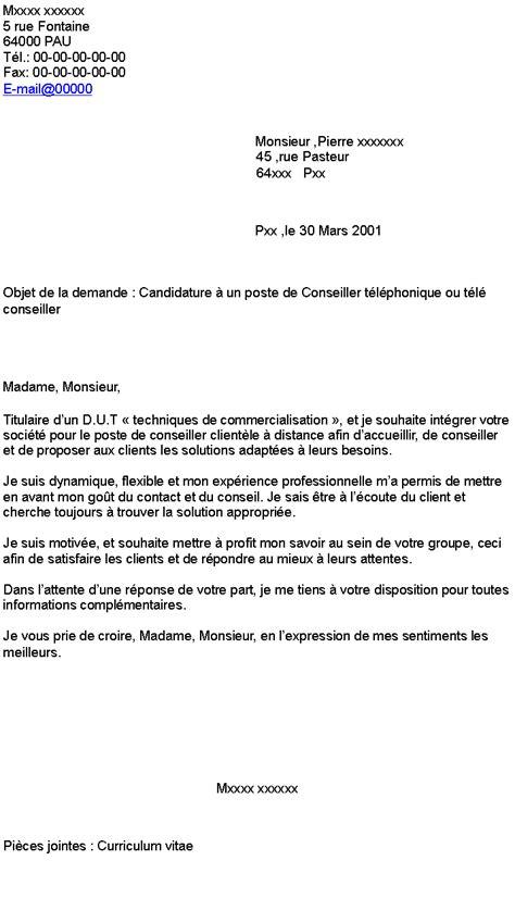Exemple De Lettre De Motivation Teleconseillere Pdf Lettre De Motivation Teleconseiller Cpam
