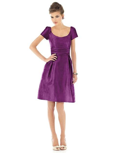 D524 A Green purple dress wedding