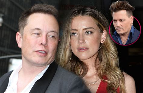 elon musk amber heard dating after johnny depp split elon musk was infatuated with amber heard for years new