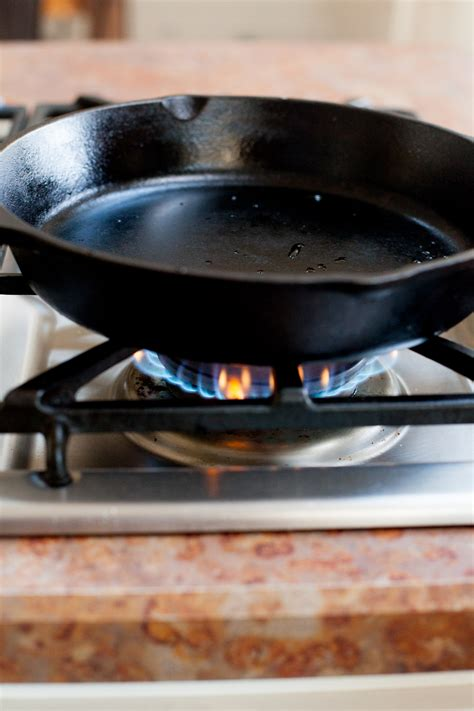 Can You Use Cast Iron Skillet On Ceramic Cooktop cast iron 101 how to use clean and your cast iron cookware wholefully