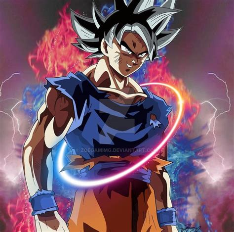 imagenes goku limit breaker hd goku limit breaker by zoegamimg on deviantart