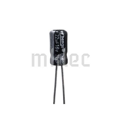 22uf capacitor code 22uf 16v electrolytic capacitor