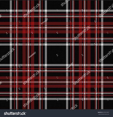 plaid pattern en espanol knitted plaid pattern stock vector illustration 325819307