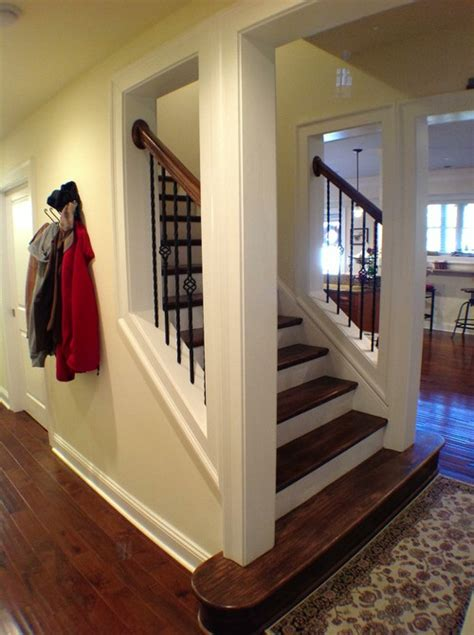 Up The Staircase we are finishing our basement suggestions on opening up